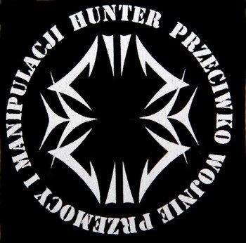 naszywka HUNTER - PRZECIWKO
