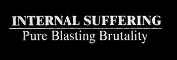 naszywka INTERNAL SUFFERING - PURE BLASTING BRUTALITY
