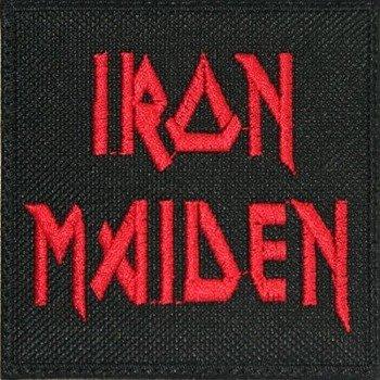 naszywka IRON MAIDEN - LOGO RED