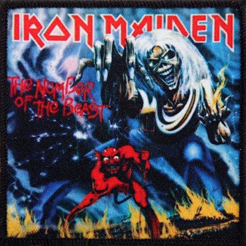 naszywka IRON MAIDEN - THE NUMBER OF THE BEAST