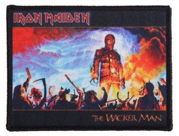 naszywka IRON MAIDEN - THE WICKER MAN