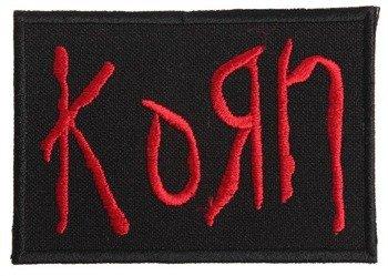 naszywka KORN - LOGO RED
