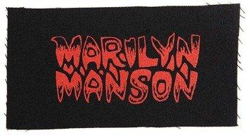 naszywka MARILYN MANSON - LOGO