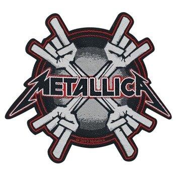 naszywka METALLICA - METAL HORNS