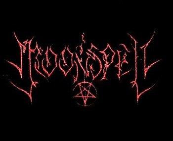 naszywka MOONSPELL - LOGO