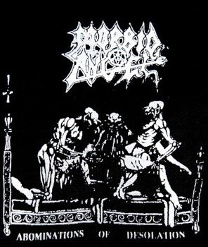 naszywka MORBID ANGEL - ABOMINATIONS OF DESOLATION