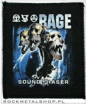 naszywka RAGE - SOUNDCHASER