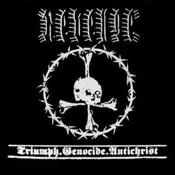 naszywka REVENGE - TRIUMPH, GENOCIDE, ANTICHRIST