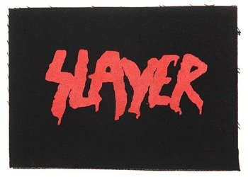 naszywka SLAYER - LOGO GOD HATES, RED