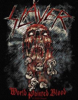 naszywka SLAYER - WORLD PAINTED BLOOD