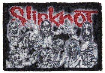 naszywka SLIPKNOT - BAND