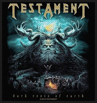 naszywka TESTAMENT - DARK ROOTS OF EARTH