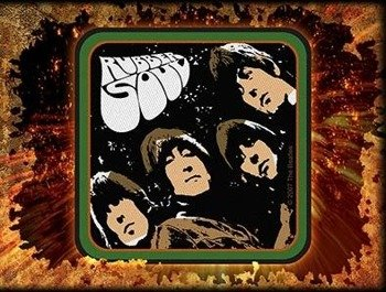 naszywka THE BEATLES - RUBBER SOUL