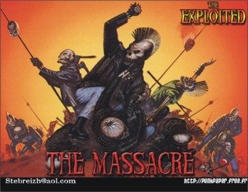 naszywka THE EXPLOITED - THE MASSACRE