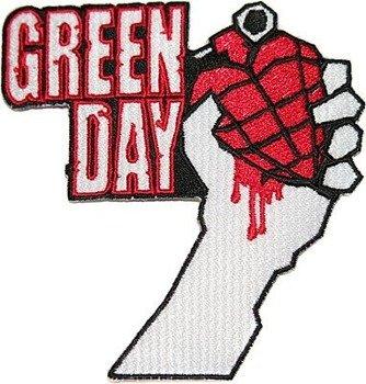 naszywka termiczna GREEN DAY - GRENADE HEART