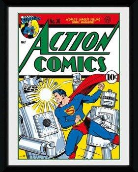 obraz w ramce SUPERMAN - COMIC