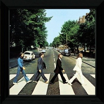 obraz w ramie THE BEATLES - ABBEY ROAD