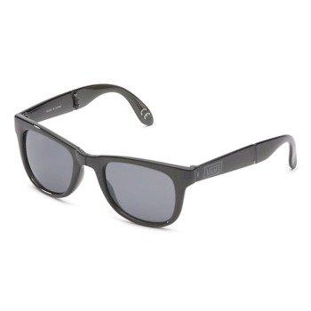 okulary VANS - FOLDABLE SPICOLI TRANSPARENT BLACK