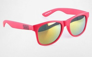 okulary VANS - SPICOLI 4 BLACK REINVENT RED MI
