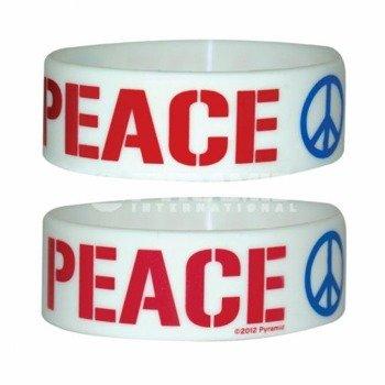 opaska PEACE silikonowa