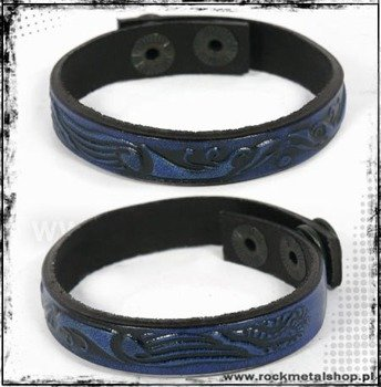 opaska napa 12mm TRIBAL blue