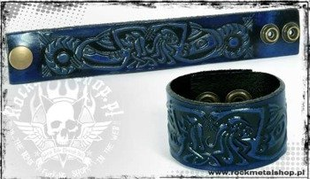 opaska napa 32mm TRIBAL blue