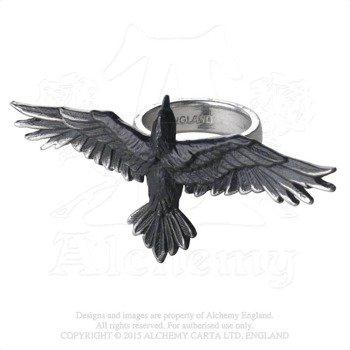 pierścień BLACK CONSORT