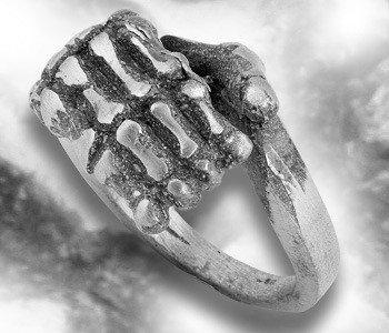 pierścień SKELETON HAND
