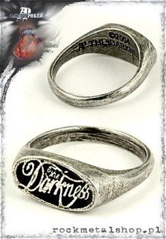 pierścień  THE DARKNESS - LOGO