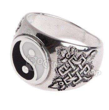 pierścień YIN YANG