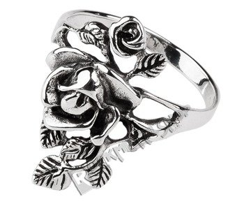 pierścionek SILVER ROSE, srebro 925
