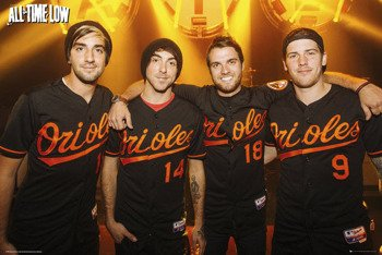 plakat ALL TIME LOW - GROUP