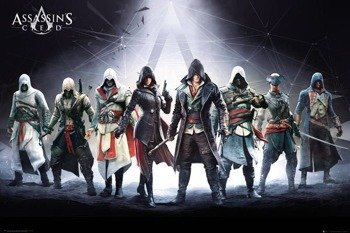 plakat ASSASSINS CREED - CHARACTERS