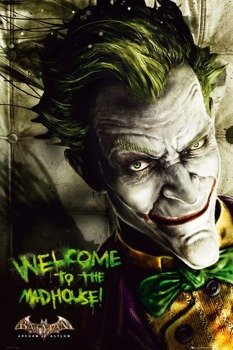 plakat BATMAN ARKAM ASYLUM - JOKER
