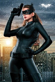 plakat BATMAN THE DARK KNIGHT RISES - CATWOMAN