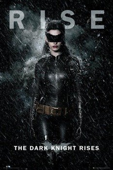 plakat BATMAN THE DARK KNIGHT RISES - CATWOMAN RISE