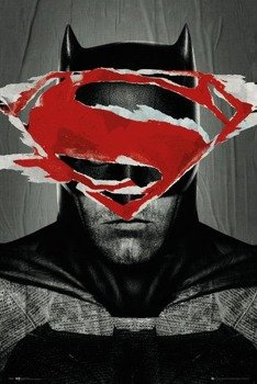 plakat BATMAN VS SUPERMAN - BATMAN TEASER