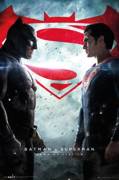 plakat BATMAN VS SUPERMAN - ONE SHEET