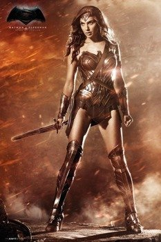 plakat BATMAN VS SUPERMAN - WONDER WOMAN