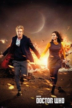 plakat DOCTOR WHO - RUN