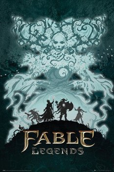 plakat FABLE LEGENDS - WHITE LADY