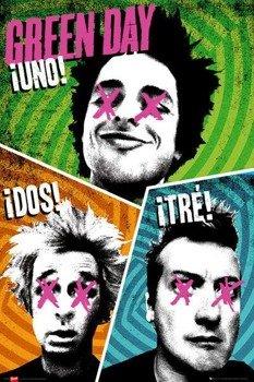 plakat GREEN DAY - TRIO
