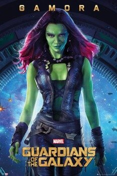 plakat GUARDIANS OF THE GALAXY - GAMORA