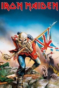 plakat IRON MAIDEN - TROOPER