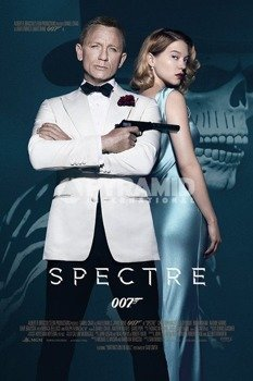 plakat JAMES BOND - SPECTRE