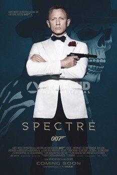 plakat JAMES BOND - SPECTRE (SKULL)