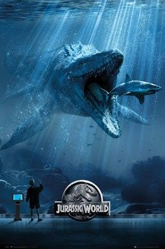 plakat JURASSIC WORLD - MOSA ONE SHEET