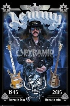 plakat LEMMY - COMMEMORATIVE