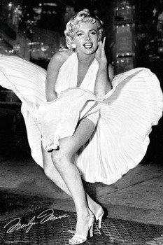 plakat MARILYN MONROE - NEW YORK DRESS