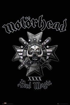 plakat MOTORHEAD - BAD MAGIC (GLOBAL)